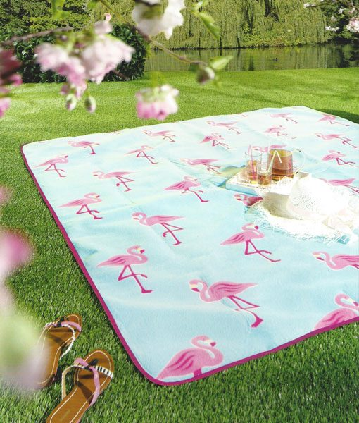 Picknickdeken Open Flamingo